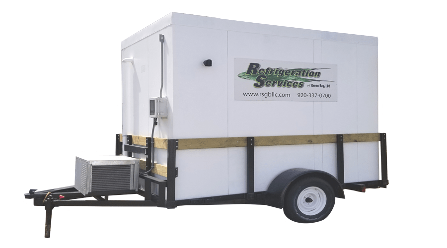 Rental Refrigeration Trailer